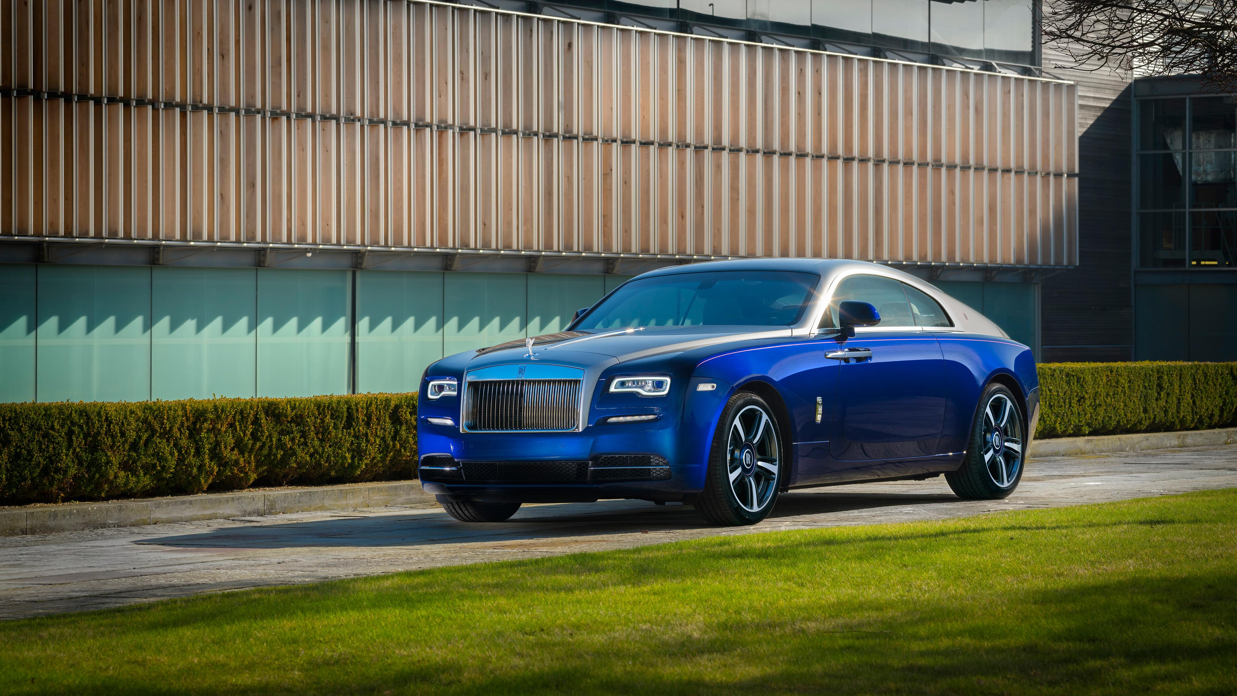 Rolls Royce Wraith 2017 Bespoke 4k Wallpaper Hd Car Wallpapers