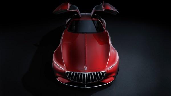 Vision Mercedes Maybach 6 Wallpaper Hd Car Wallpapers Id #6907