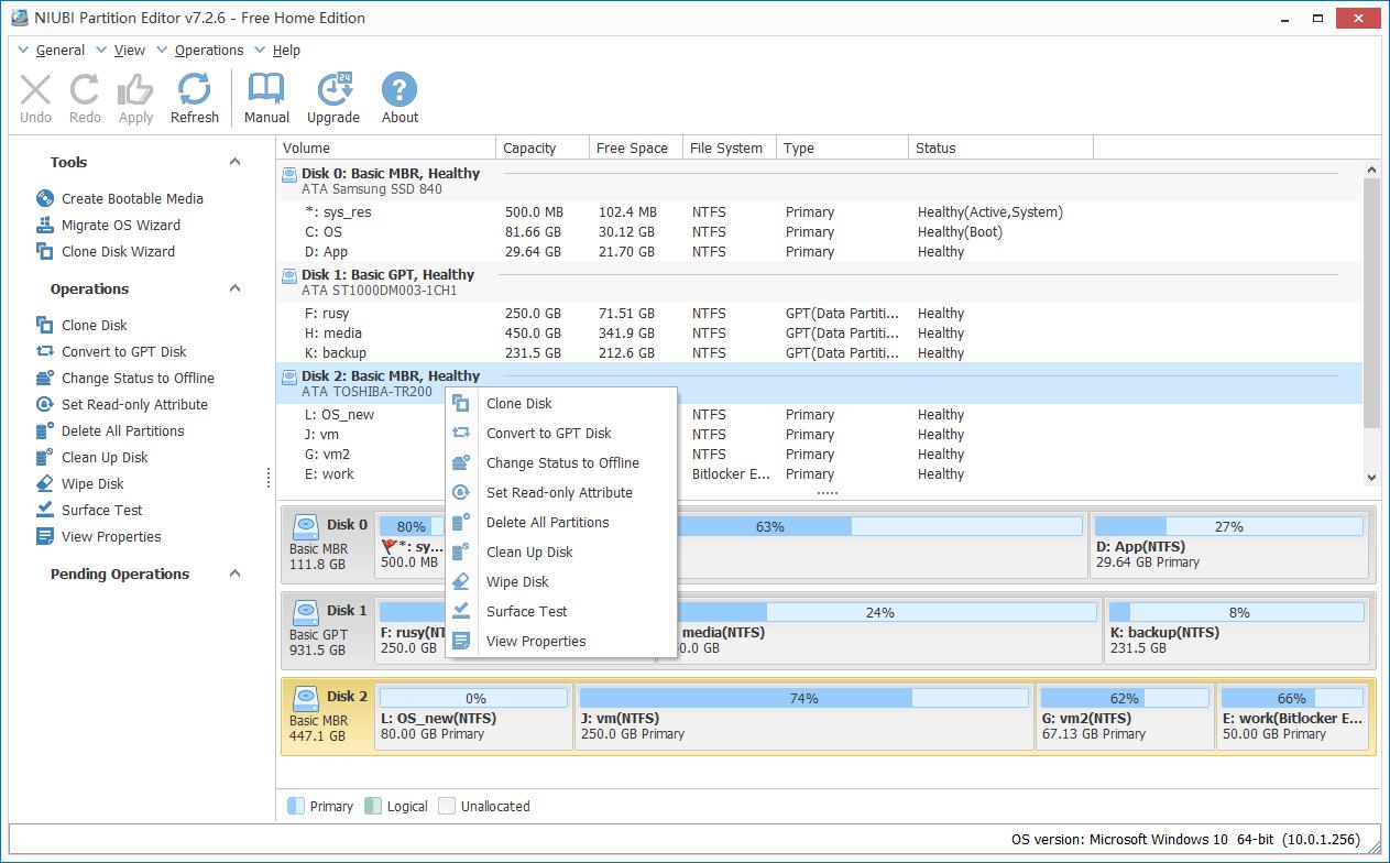 最好 Windows 10 Partition Magic 另類-100%免費。