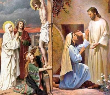 CHÂN DUNG THÁNH NỮ MARIA MAĐALÊNA - Hạnh Các Thánh - Huynh Đoàn Đa Minh  Cộng Đoàn Thánh Linh