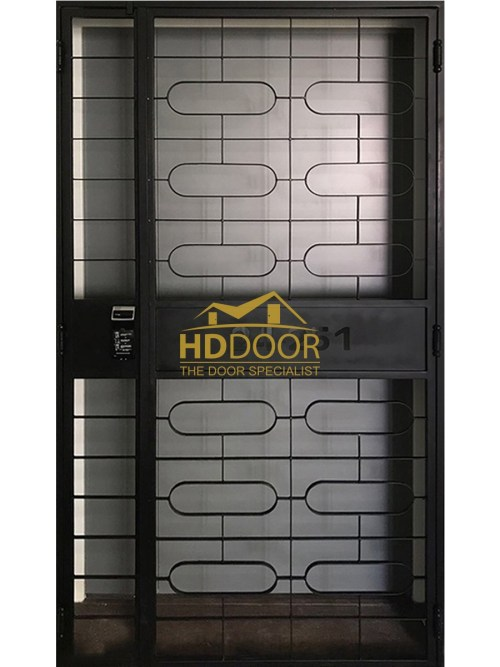 HD528 Mild Steel Gate