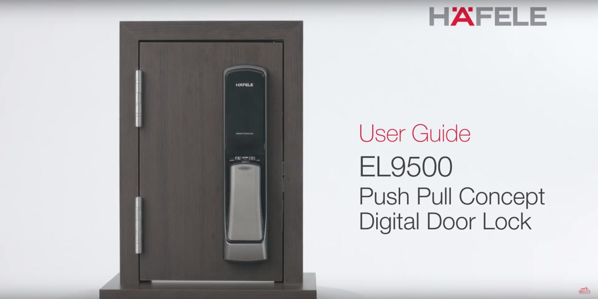 EL9500 Push Pull Digital Lock