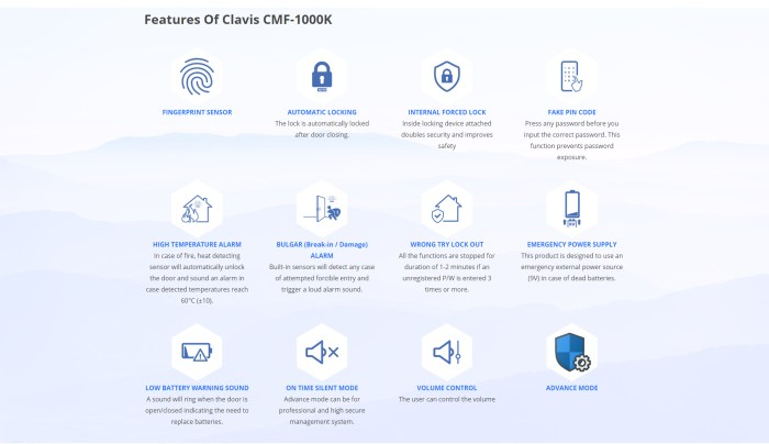 features of cmf1000k