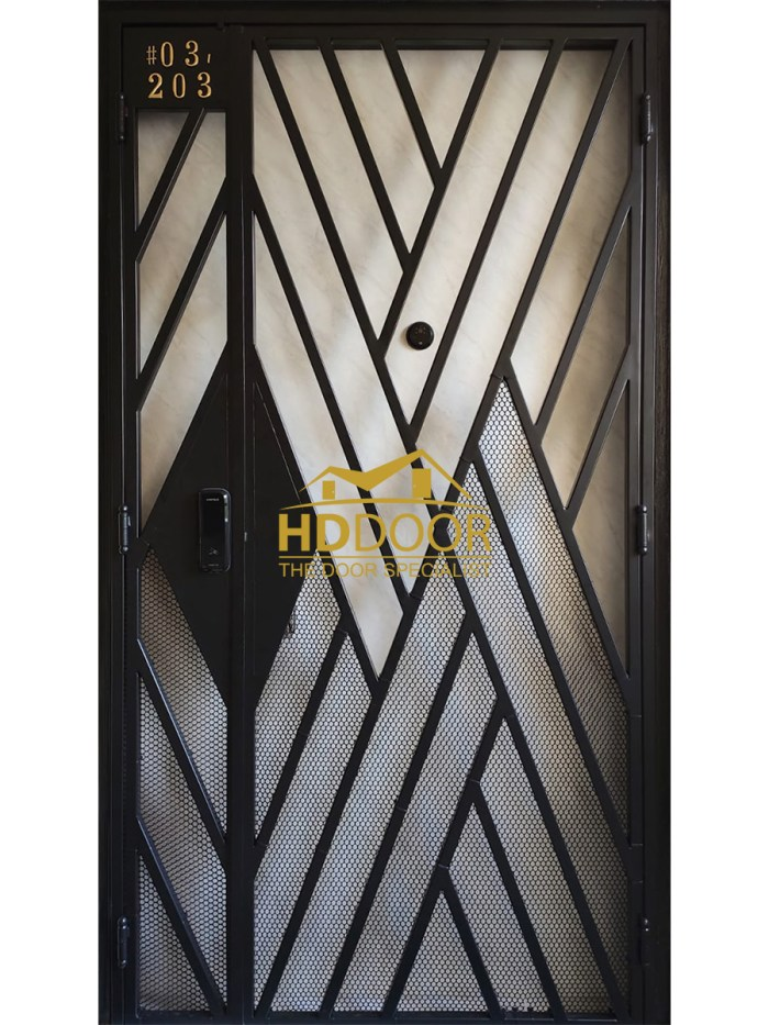 HD-566 Mild Steel Gate