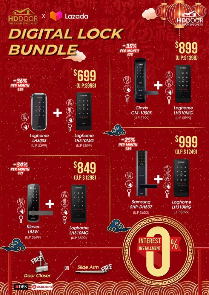 chinese new year locksmith bundle 2021