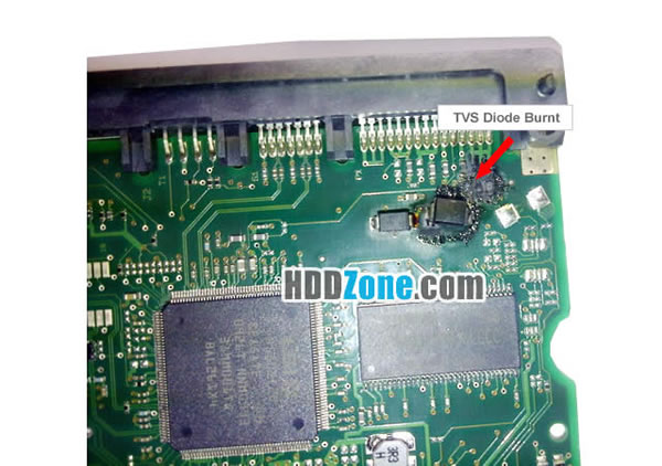 Hard Drive Circuit Board Replacement Fix Hard Drive Burnt Controller