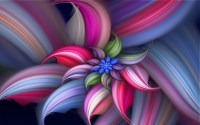 Download Abstract Flower Beautiful Colorful Wa #1995 Hd