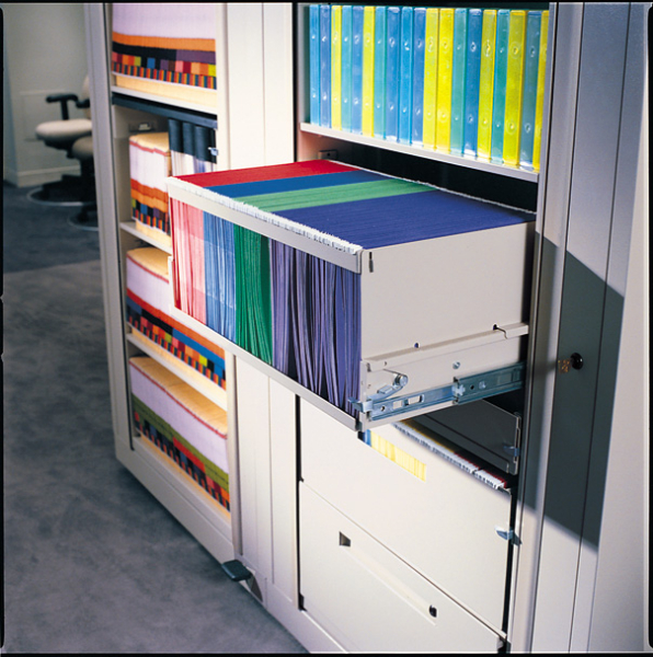 Rotary Filing and Storage Application Pictures in Texas