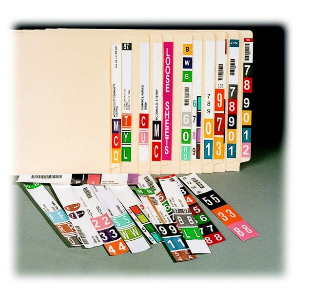 File Labeling Software Color Coded End Tab File Labeling