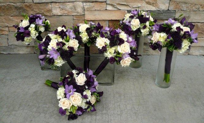 Purple Wedding Flowers Ideas