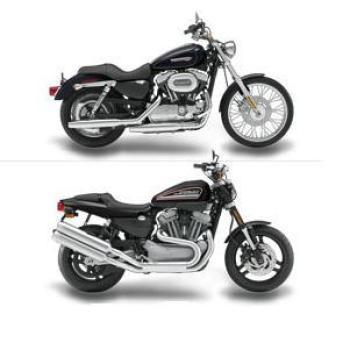 Motorcycle Comparison: 2009 Harley Davidson XR1200 vs  2009
