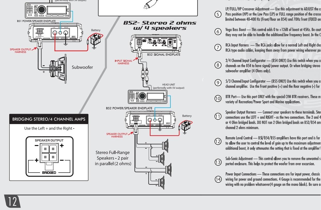 Street Glide Amp Amp Speaker Upgrade