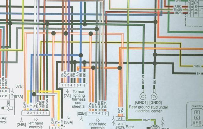 1988 harley softail wiring diagram 1988 suzuki intruder