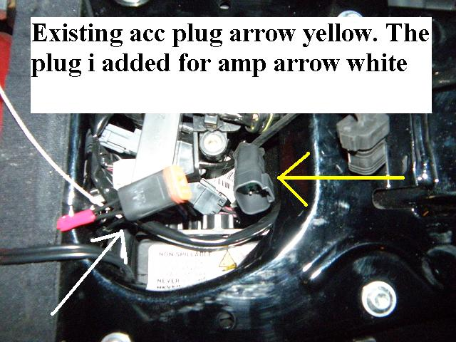 4 wire outlet diagram cat5 rj45 socket wiring accessory under the seat? - harley davidson forums