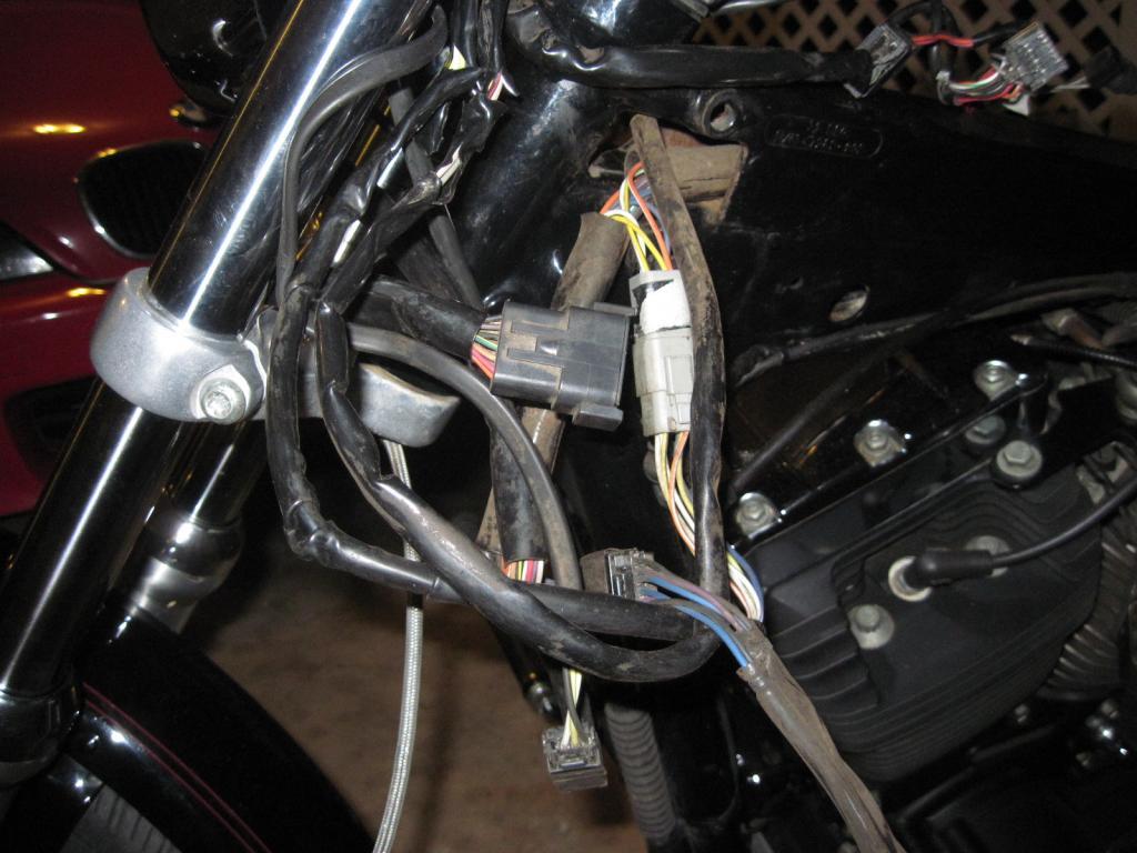 harley wiring harness 2007