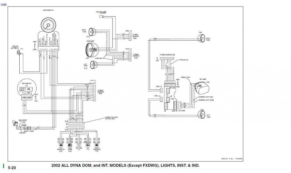 1998 Dyna Wiring Diagram | Wiring Diagram Harley Supper Glide Wiring Diagram on