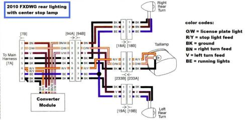 small resolution of wiring diagram for 2007 harley street glide wiring schematic data honda tail light wiring diagram harley sportster tail light wiring diagram