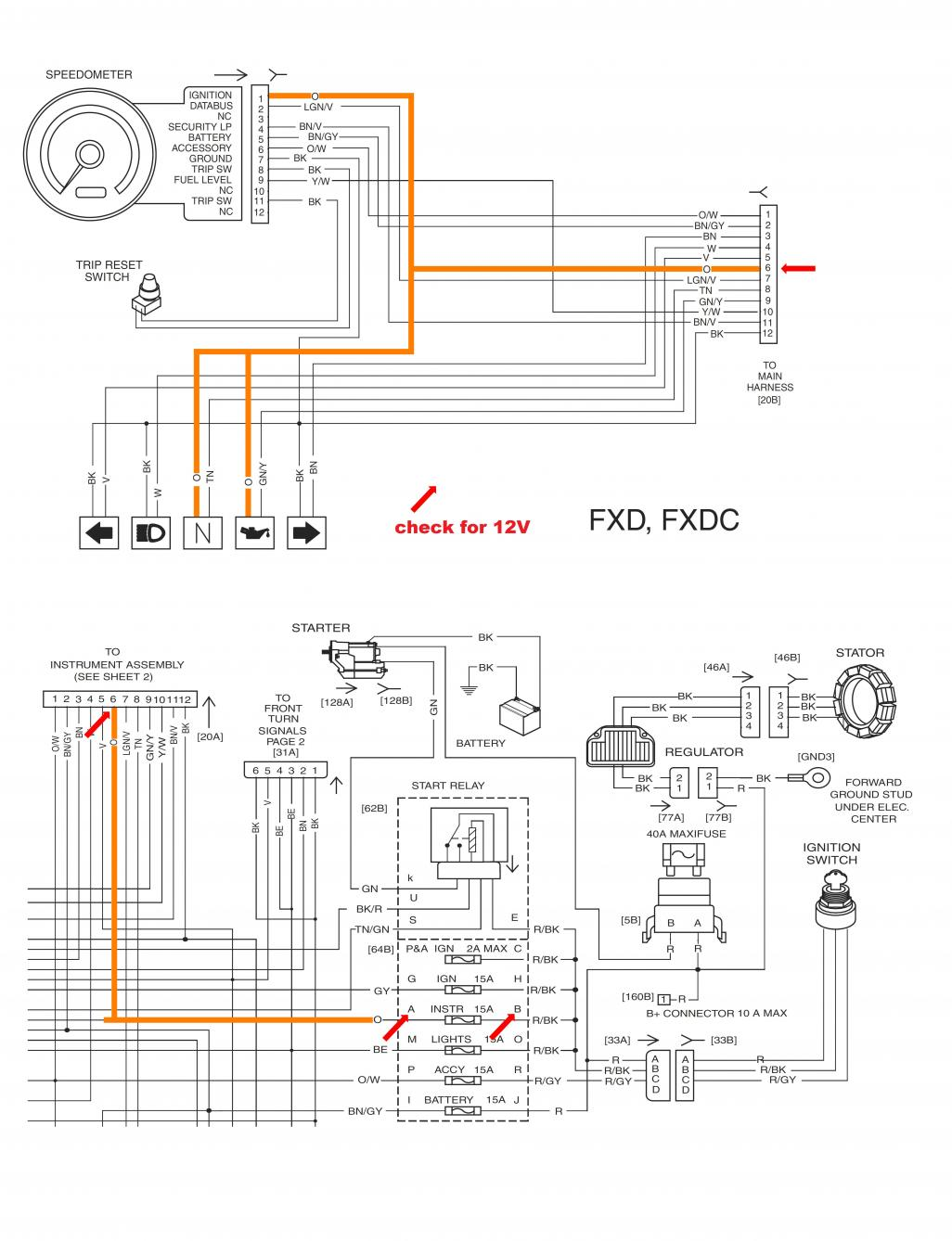 hight resolution of 1998 harley dyna wide glide starter wiring diagram