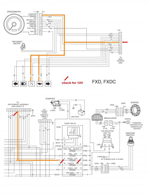 small resolution of 1998 harley dyna wide glide starter wiring diagram