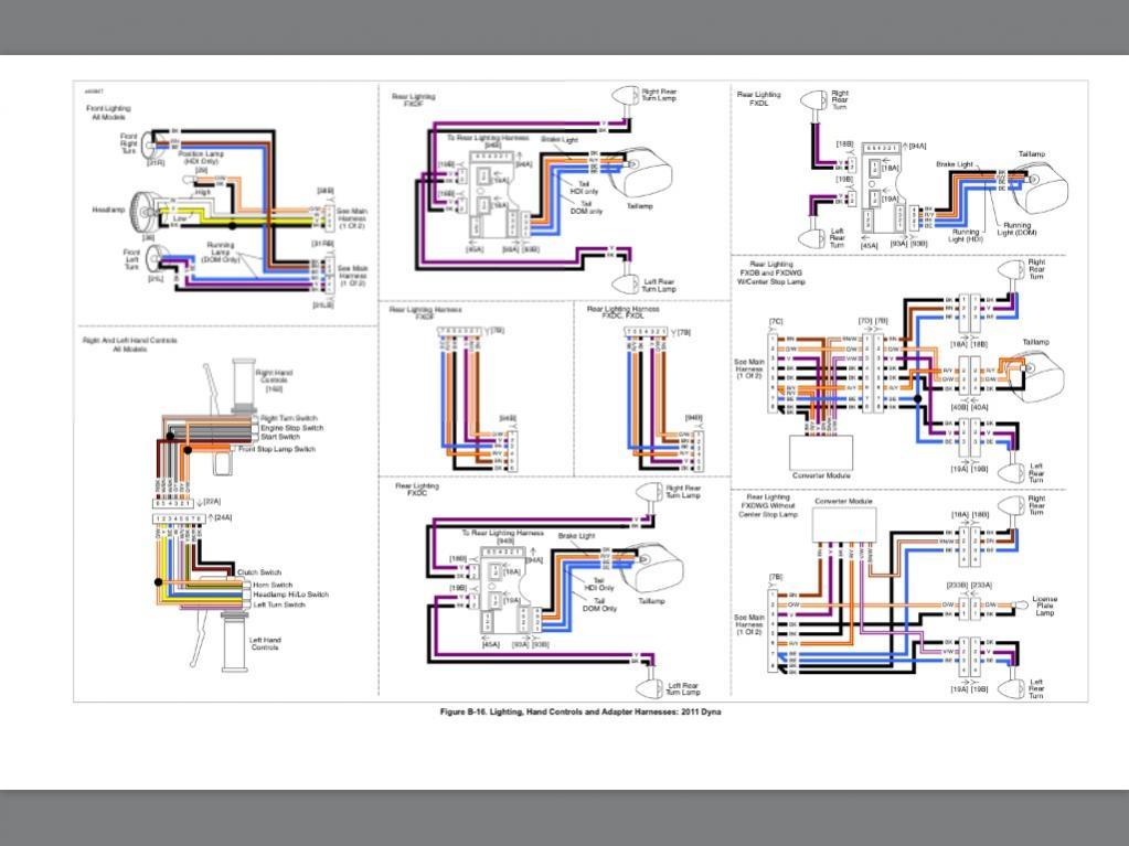 2002 harley davidson ultra classic wiring diagram wiring Harley Wide Glide Wiring Diagram