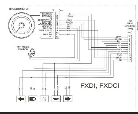 96 Harley Sportster Wiring Diagram 96 Sportster Headlight