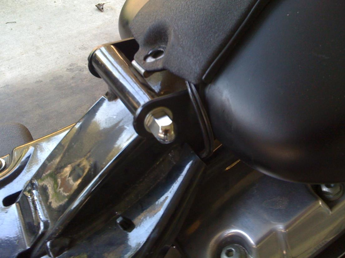 Fork Bag Stereo Harley Davidson