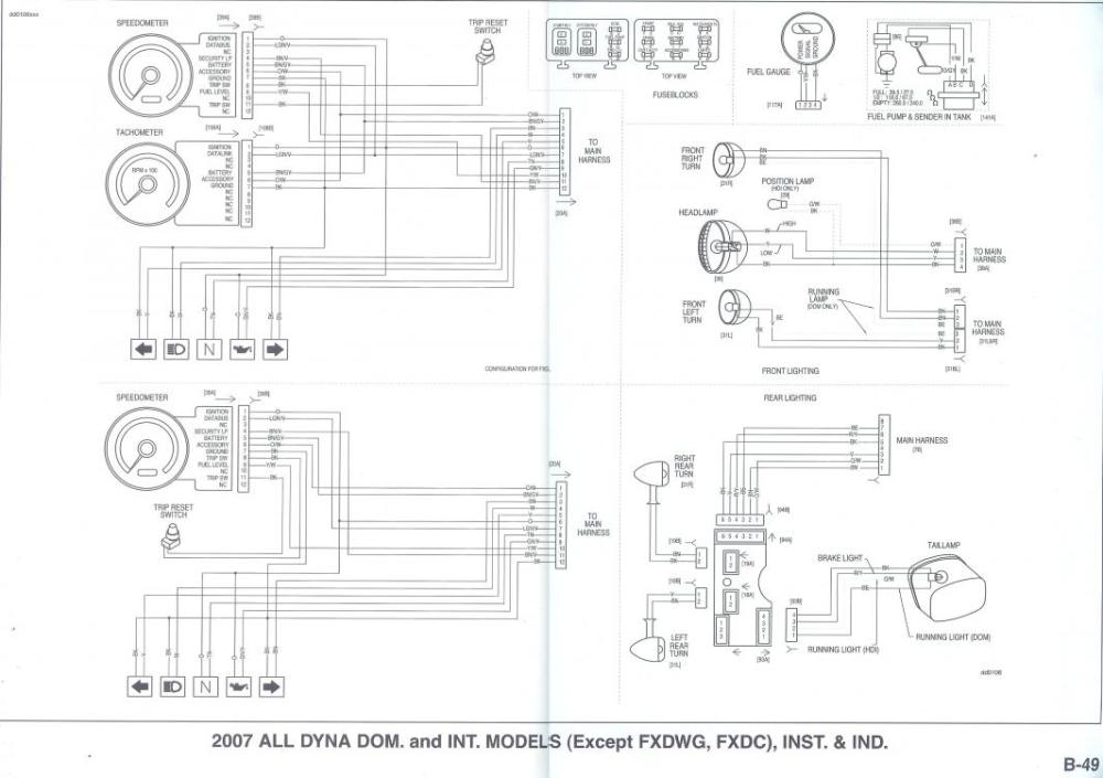 medium resolution of harley tachometer wiring diagram wiring diagram third level rh 13 6 12 jacobwinterstein com harley davidson tachometer wiring diagram harley davidson