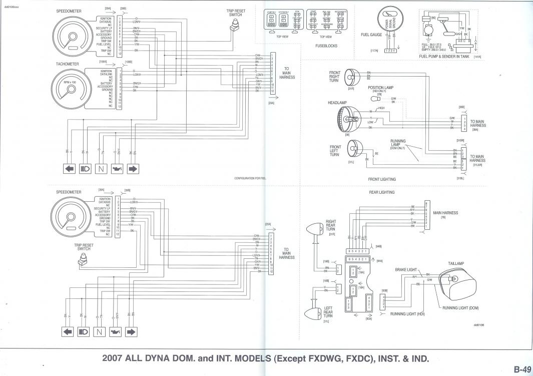 hight resolution of harley tachometer wiring diagram wiring diagram third level rh 13 6 12 jacobwinterstein com harley davidson tachometer wiring diagram harley davidson