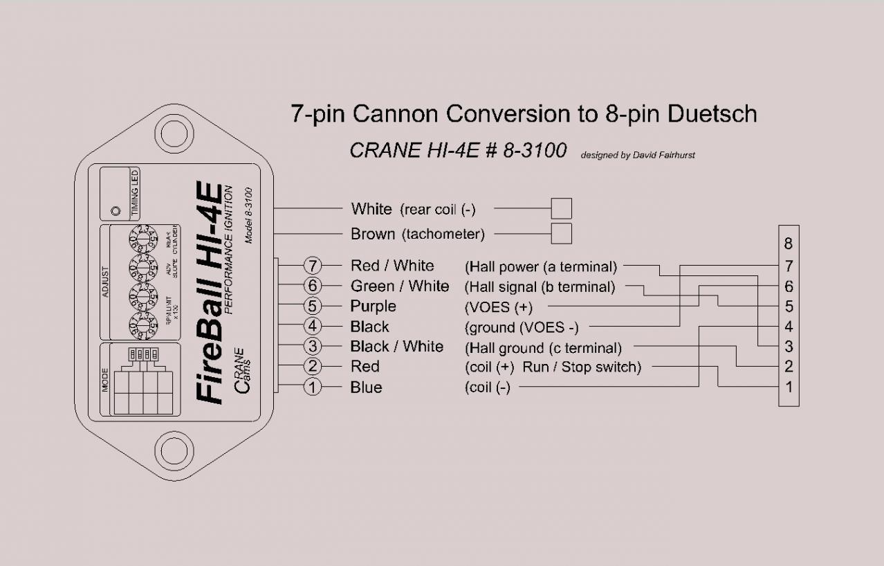 hight resolution of crane hi 4e 8 3100 7 pin module wiring