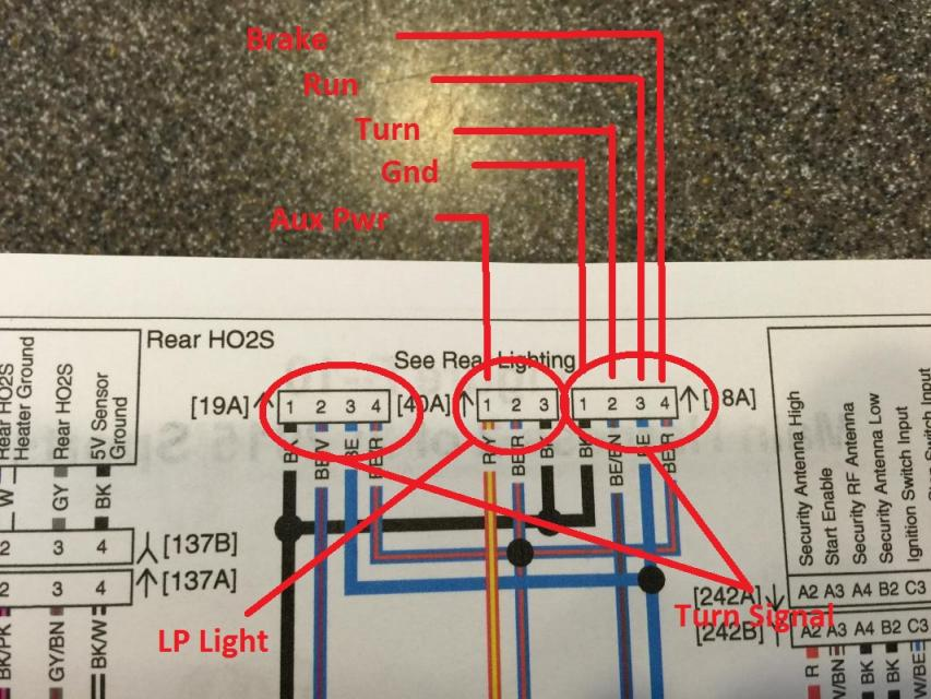 Light Wiring Diagram Also Sequential Turn Signals Tail Lights Moreover