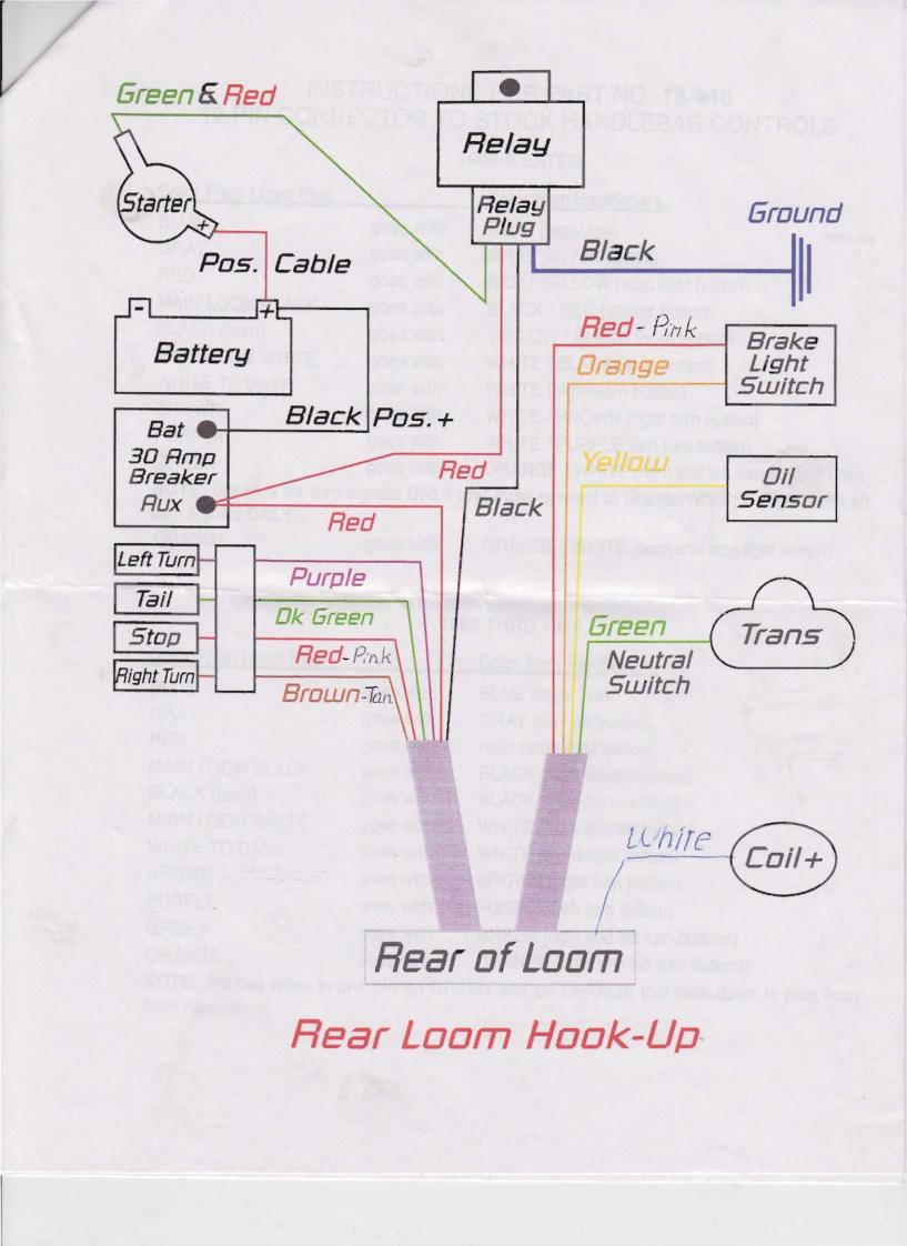 two way switch wiring diagram for lights draw a of how policy system works 1986 heritage loom question.... - harley davidson forums