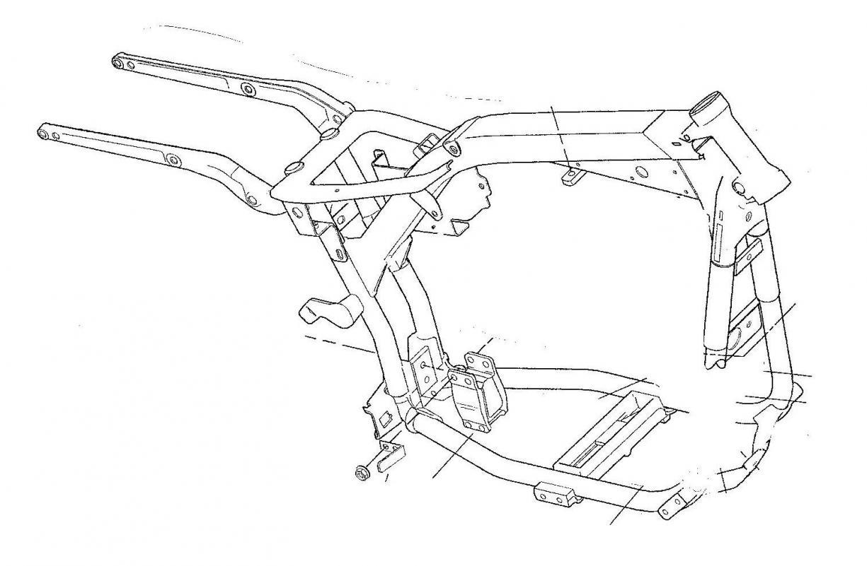 harley softail frame diagram 94 ford ranger radio wiring rear suspension imageresizertool com
