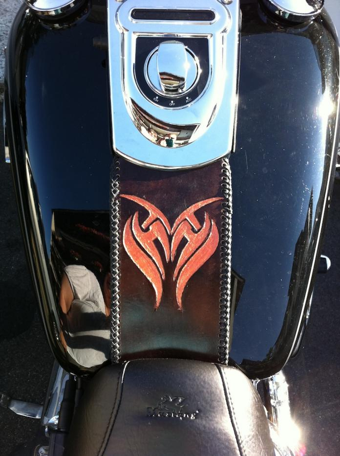 Home Made Tank Bib Harley Davidson Forums
