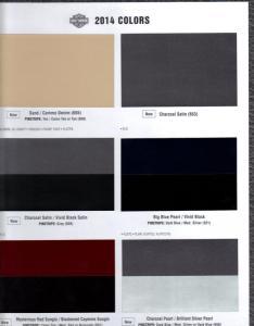 Color chart   colors page  also harley davidson forums rh hdforums