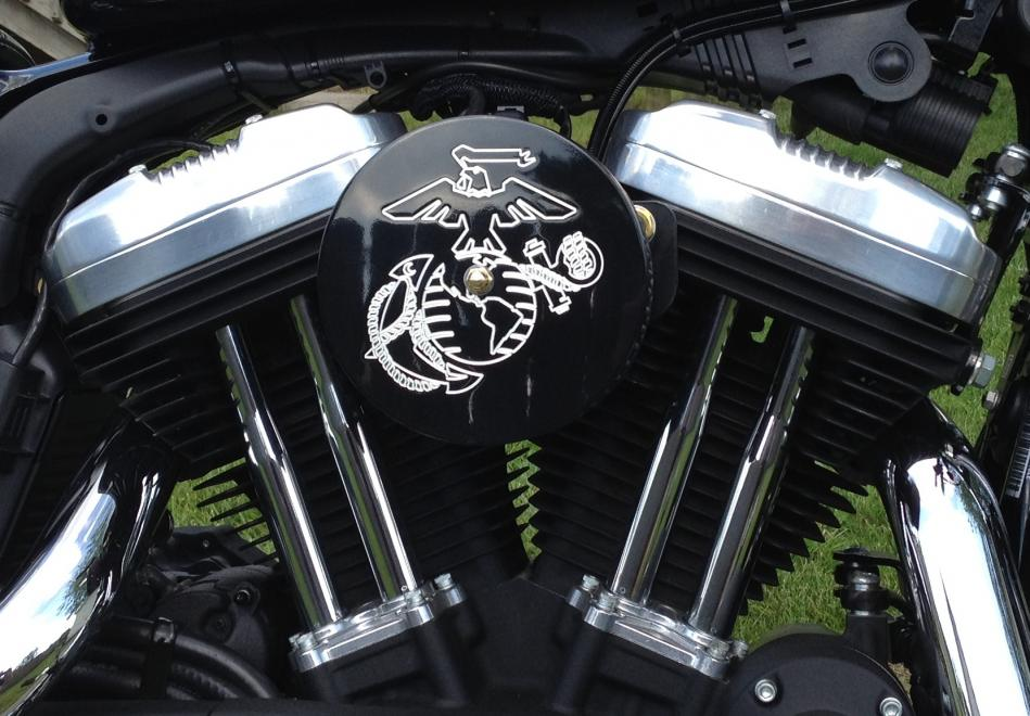 Lets see your cool air cleaner cover  Page 5  Harley