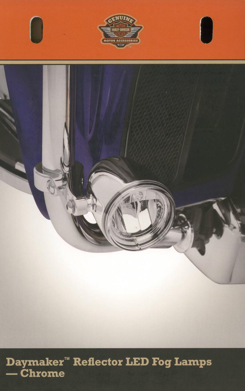 medium resolution of daymaker reflector led fog lamps wiring harness harley davidson harley davidson coil wiring diagram