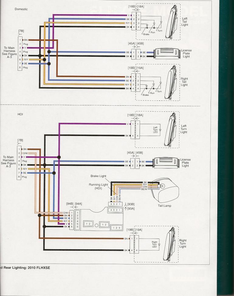 harley davidson tail light wiring diagram cat paw pin location on cvo lights - forums