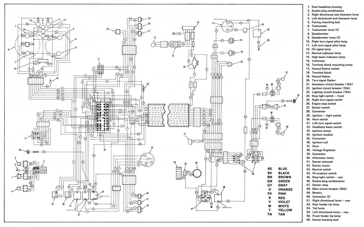 Harley Davidson Charging System Wiring Diagram on