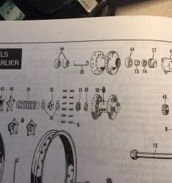 1972 flh rear wheel bearing spacer wheel bearing diagram jpg [ 1632 x 1224 Pixel ]