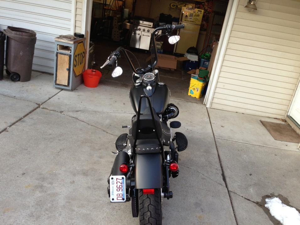 2013 Harley Sportster Wiring Diagram Slim Blackline Sissy Bar Turn Signal Modification And
