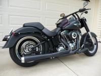 Exhaust for a fatboy lo/slim - Harley Davidson Forums