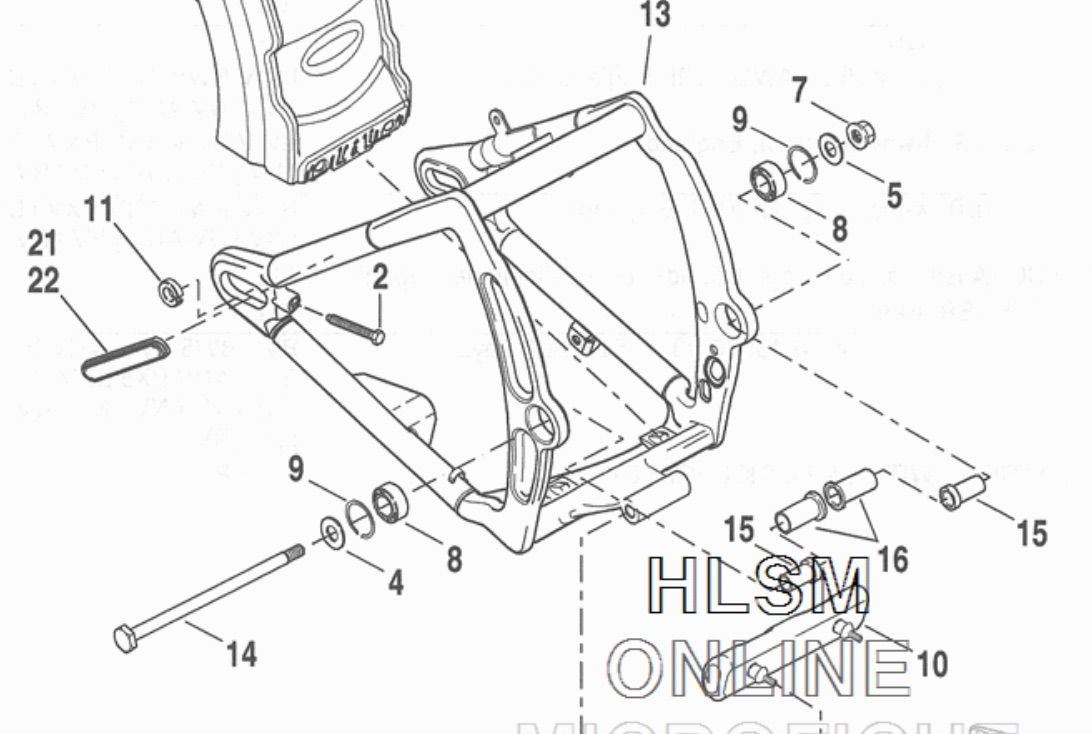 Harley Softail Rear Suspension Diagram Html