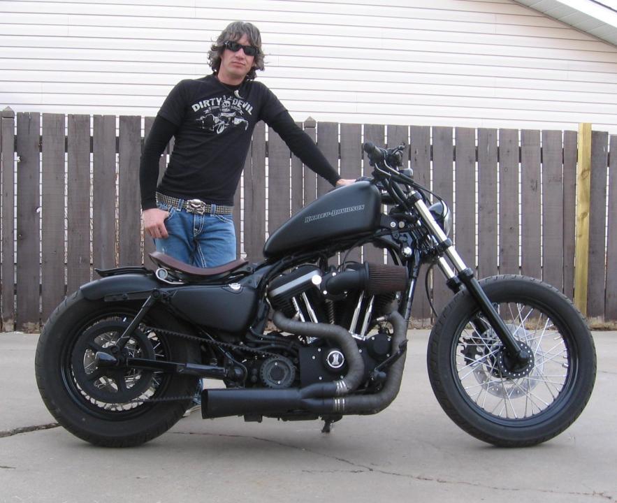 Extrêmement harley iron 883 custom | hobbiesxstyle LS06