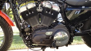 Painted the motor on the Nightster  Page 4  Harley