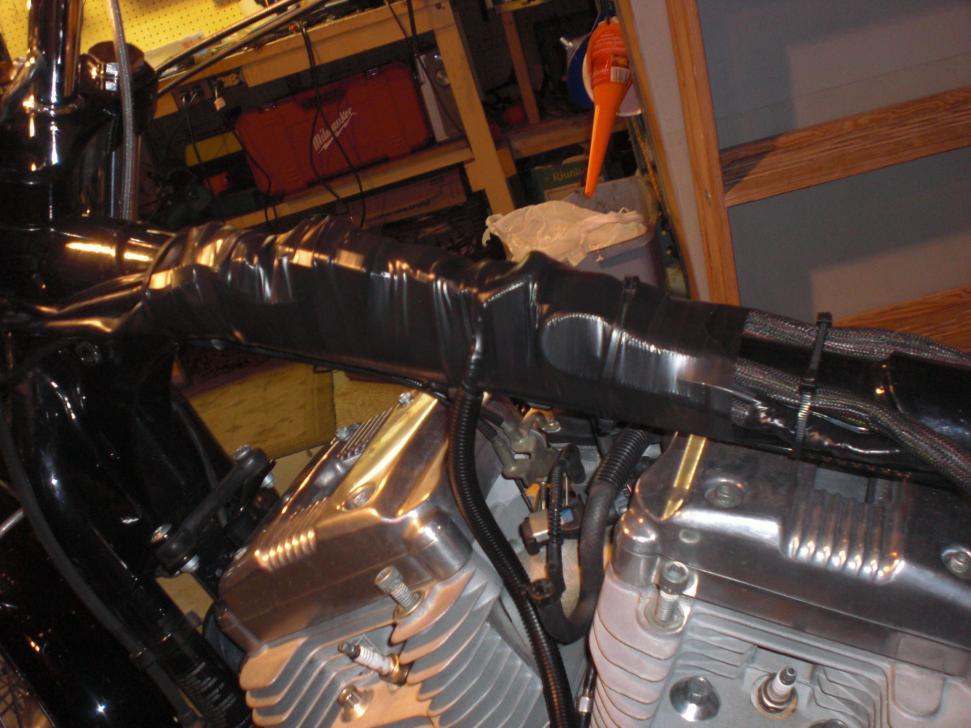 Wiring Harness Restoration Tank Lift Pics Harley Davidson Forums