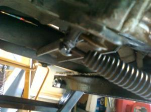 Broke the spring pin for the kickstand  Harley Davidson Forums