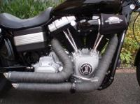anybody exhaust heat wrap V&H short shots?? - Harley ...