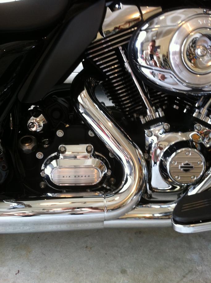 2011 flxh exhaust heat shield