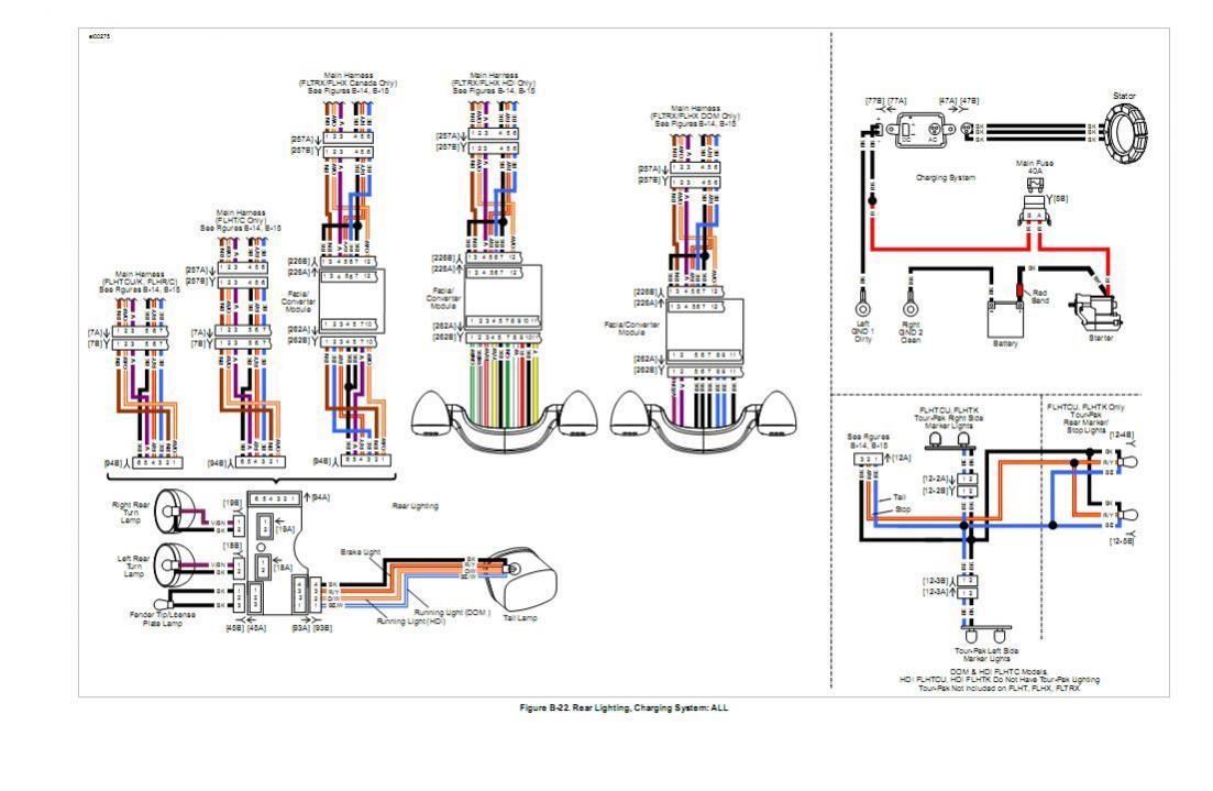 Harley Wiring Harnes Diagram - Wiring Diagrams