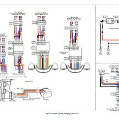 trailer wiring diagram in addition harley dyna glide wiring diagrams harley davidson radio installation road wiring [ 1103 x 719 Pixel ]